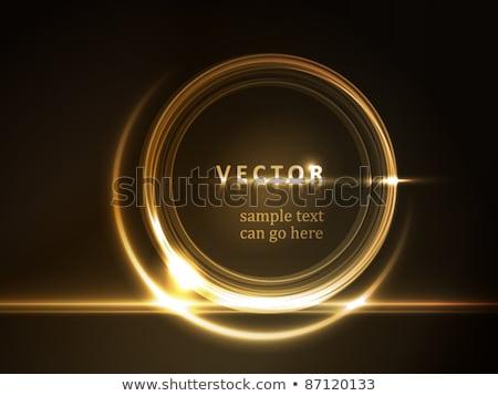 Achtergrond Met Gouden Frame Voor Uw Tekst Stockfoto © wenani