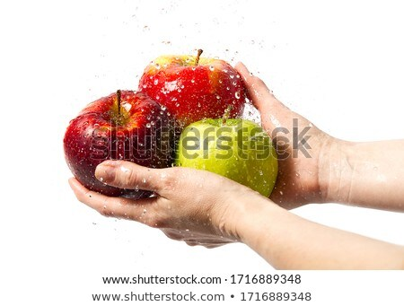 three freshly washed apples Stock photo © Digifoodstock