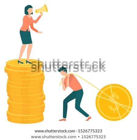 negócio · financiar · metálico · eps · arquivo · cor - foto stock © robuart