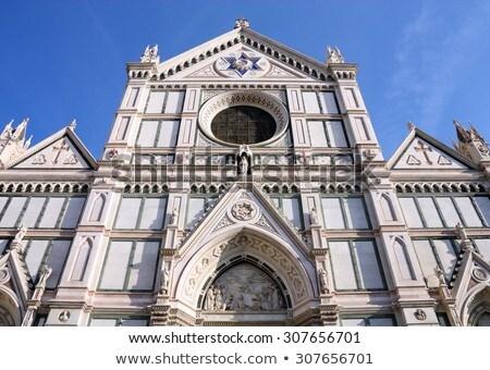 Basilica of Santa Croce - the principal Franciscan church in Flo Stock photo © hsfelix