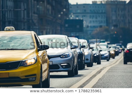 Street of City, Center with Vehicles on Roads Stock photo © robuart