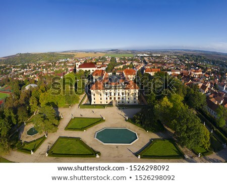 Castle in Slavkov  Stock photo © CaptureLight
