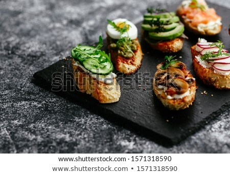 Vegetariano elegante Foto stock © goodie76