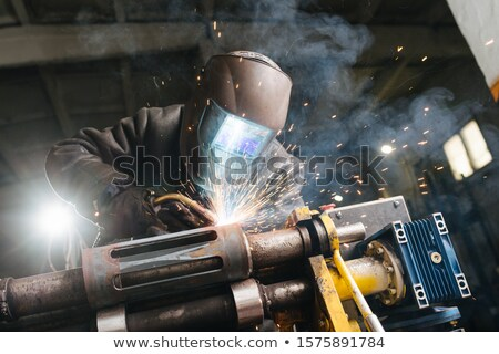 Metal çalışmak endüstriyel bıçak demir Stok fotoğraf © photo25th