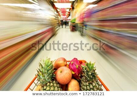alimentación · saludable · verde · comestibles · compras · grupo · seleccionado - foto stock © ungpaoman