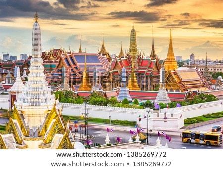 Kraliyet saray Bangkok detay görmek Stok fotoğraf © boggy
