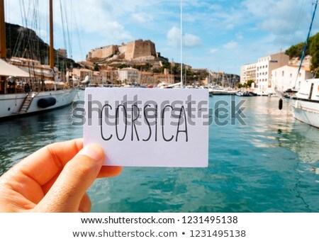 fehér · vitorlázik · tenger · idilli · nyáridő · díszlet - stock fotó © nito
