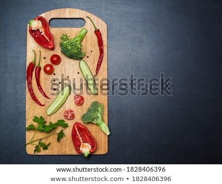 помидоров брокколи продовольствие здоровья Сток-фото © Melnyk