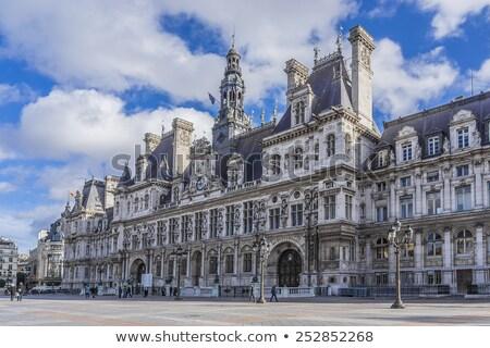 Hotel città sala Parigi Francia dettaglio Foto d'archivio © boggy