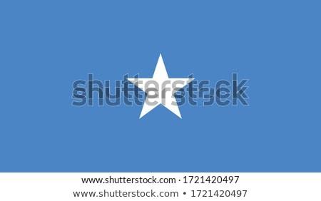 Somali banderą biały miłości serca podpisania Zdjęcia stock © butenkow