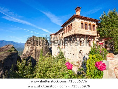 Monastery of Great Meteoron in Meteora, Greece Stock photo © borisb17