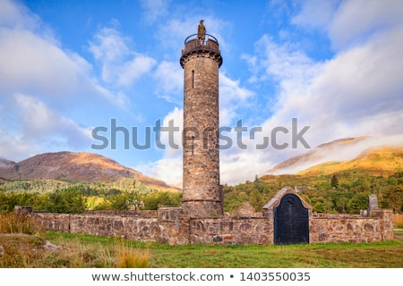 jacobite monument scotland stock photo © vichie81
