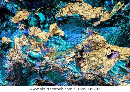 Minerale isolato bianco natura sfondo Foto d'archivio © jonnysek