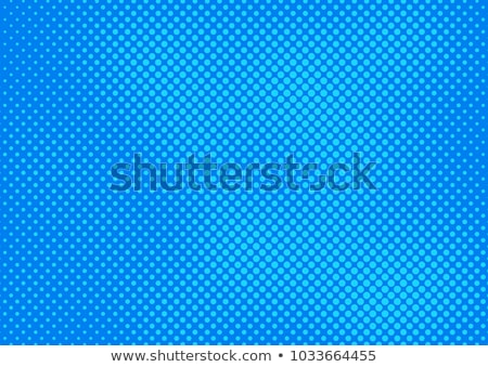 Abstract bright blue dotted background. Vector illustration. Stock photo © gladiolus