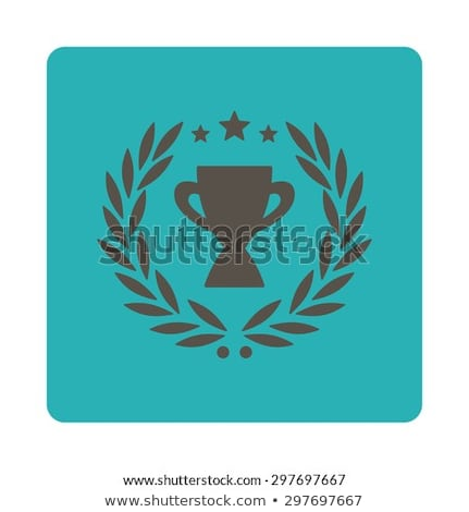 first place icon from award buttons overcolor set stock photo © ahasoft