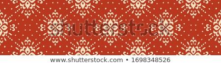 クリスマス ベクトル 芸術 パターン 青 雪 ストックフォト © RedKoala