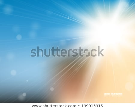 Abstract light blue bright blured gradient background Stock photo © ESSL