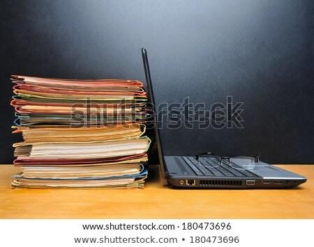 налоговых · форме · заполнение · 1040 · стандартный · доход - Сток-фото © andreypopov
