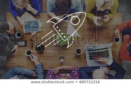 Różnorodności zespołu ludzi biznesu spotkanie ręce wraz Zdjęcia stock © Kzenon