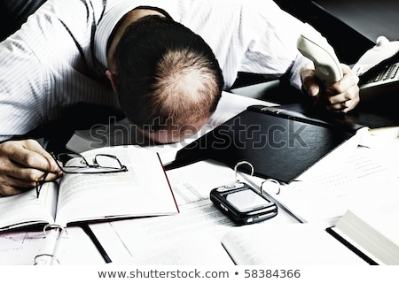 Businessman totally desperate. Stock photo © lichtmeister