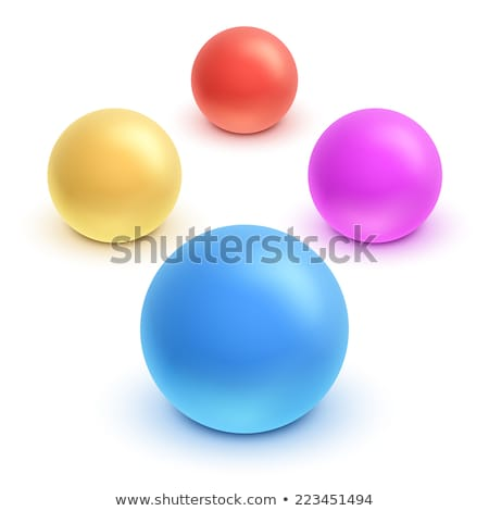 Inflatable Ball for Games Vector Illustration Stock photo © robuart