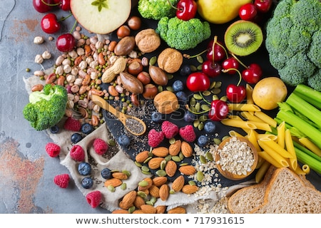 Healthy balanced vegan dieting concept.  ingredients for cooking.  Stock photo © Illia