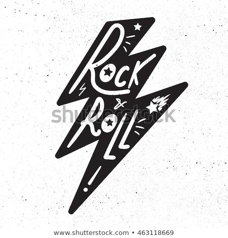 Kő zsemle póló matrica nyomtatott szövet Stock fotó © barsrsind