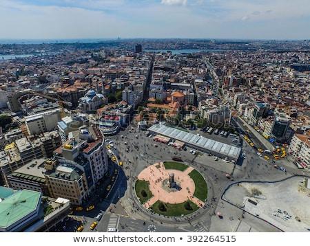 République carré Istanbul Turquie italien sculpteur Photo stock © boggy