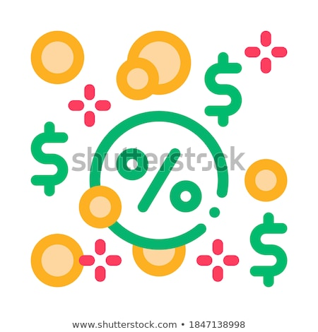 Interest-Free Loans Icon Vector Outline Illustration Stock photo © pikepicture