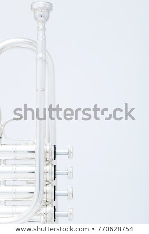 трубы ключами белый 3d визуализации джаза ветер Сток-фото © bayberry