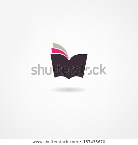 green book icon stock photo © kbuntu