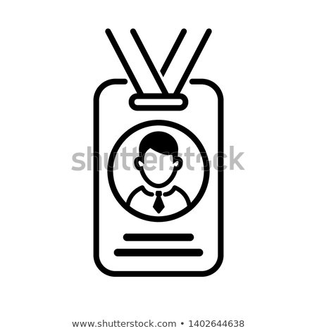 solemn presentation event icon vector outline illustration Stock photo © pikepicture