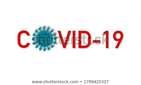 Coronavirus vaccin nieuws banner ontwerp gezondheid Stockfoto © SArts