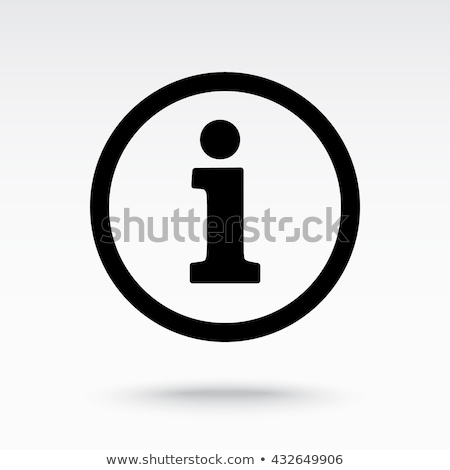 Information icon vector illustration Stock photo © nezezon