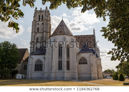 Royal Monastery of Brou, Bourg-en-Bresse, France Stock photo © borisb17