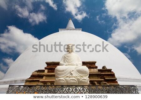 Mirisavatiya Dagoba (stupa) in Anuradhapura, Sri Lanka Stock photo © dmitry_rukhlenko