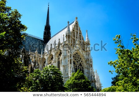 Votivkirche Chruch in Vienna stock photo © photoblueice