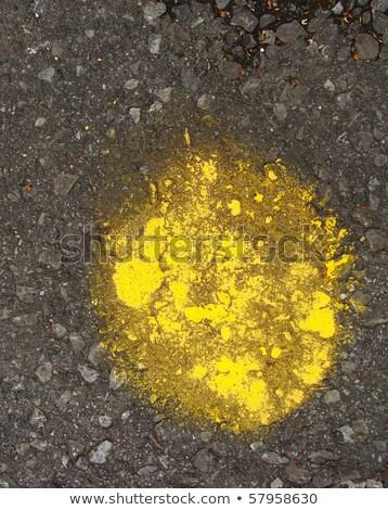 黄色 グランジ 塗料 顔料 サークル ストックフォト © Melvin07