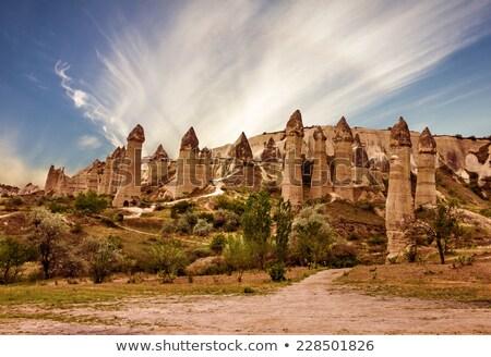 Rock · parc · Turquie · amour · paysage · montagne - photo stock © igabriela