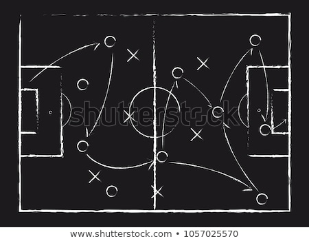 Chalkboard - Strategy Stock photo © kbuntu