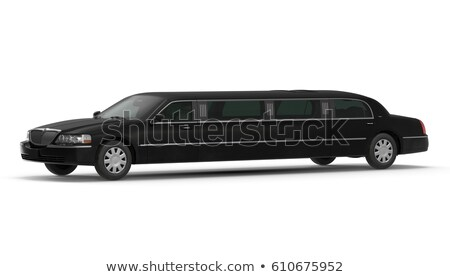 isolted limousine stock photo © simplefoto