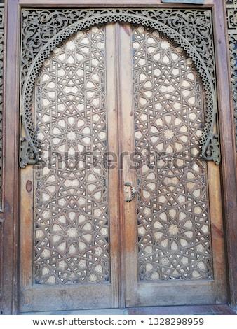 モスク · ドア · カイロ · エジプト · 古い · 宗教 - ストックフォト © travelphotography
