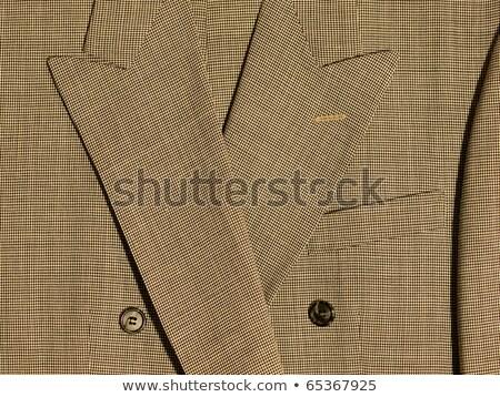 フルフレーム · ファブリック · 詳細 · スーツ · 背景 · 布 - ストックフォト © Frankljr