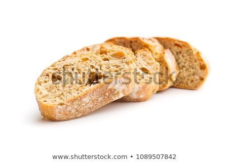 Francia kenyér olajbogyók kenyér sajt búza eszik Stock fotó © njaj
