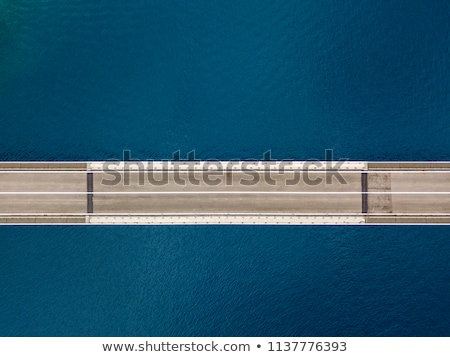 bridge detail seen from above Stock photo © prill