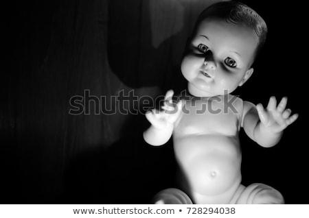 Sexy · ребенка · красивой · синий · блондинка · розовый - Сток-фото © piedmontphoto