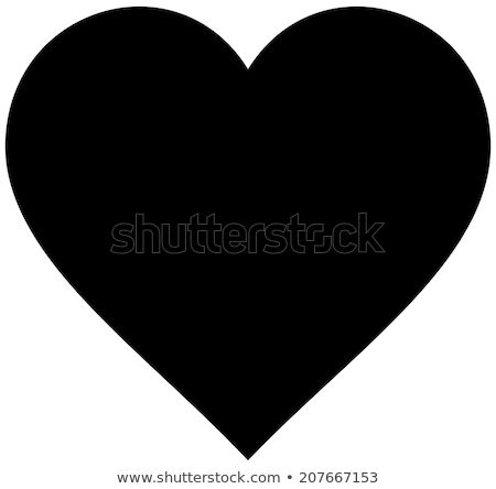 heart silhouette with aids icons stock photo © cienpies