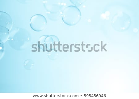 Blue bubble background Stock photo © Krisdog