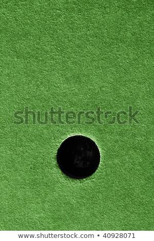Fou golf trou herbe artificielle herbe golf Photo stock © latent