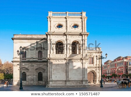 Ayuntamiento or Town Hall of Seville Stock photo © aladin66